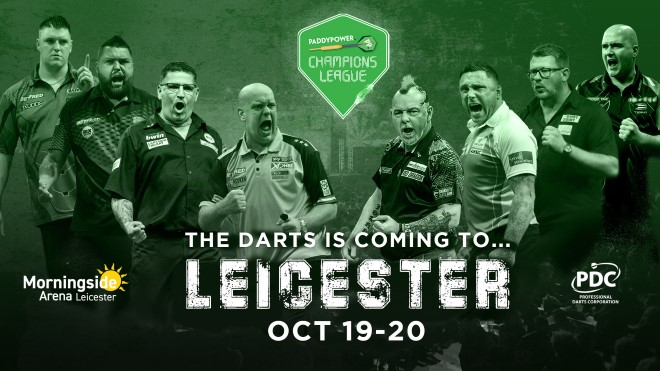 Champions League of Darts banner (PDC)