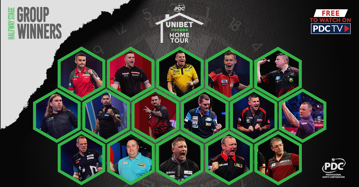 Unibet Home Tour group winners
