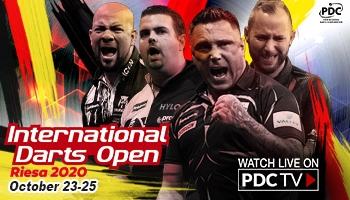 International Darts Open on PDCTV