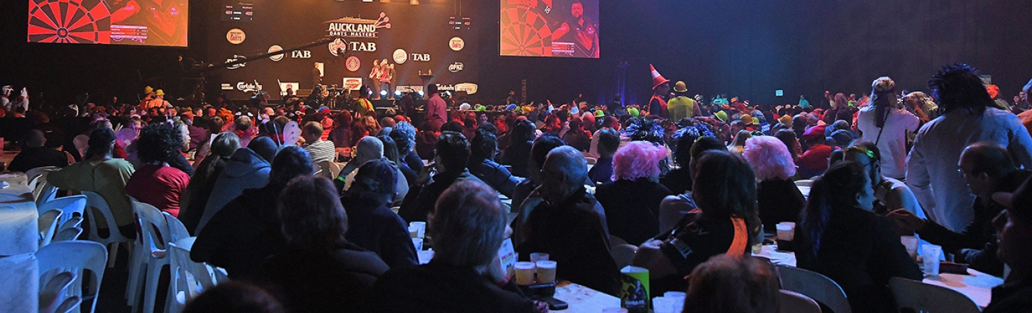 Auckland Darts Masters crowd (PDC)