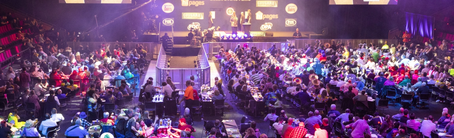 Brisbane Darts Masters general view (PDC)