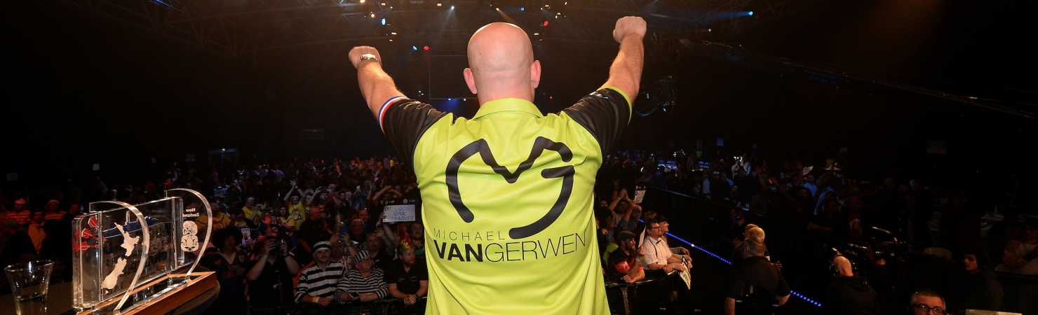 New Zealand Darts Masters crowd (PDC)