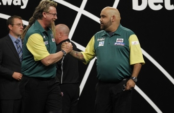Simon Whitlock & Kyle Anderson (Lawrence Lustig, PDC)