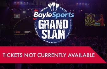 Grand Slam of Darts tickets (PDC)