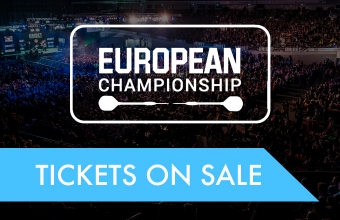European Championship tickets on sale (PDC)