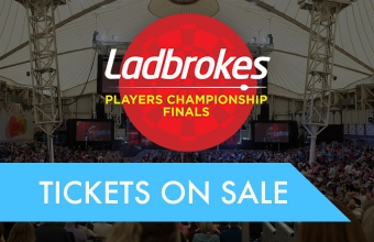 Players Championship Finals tickets on sale (PDC)