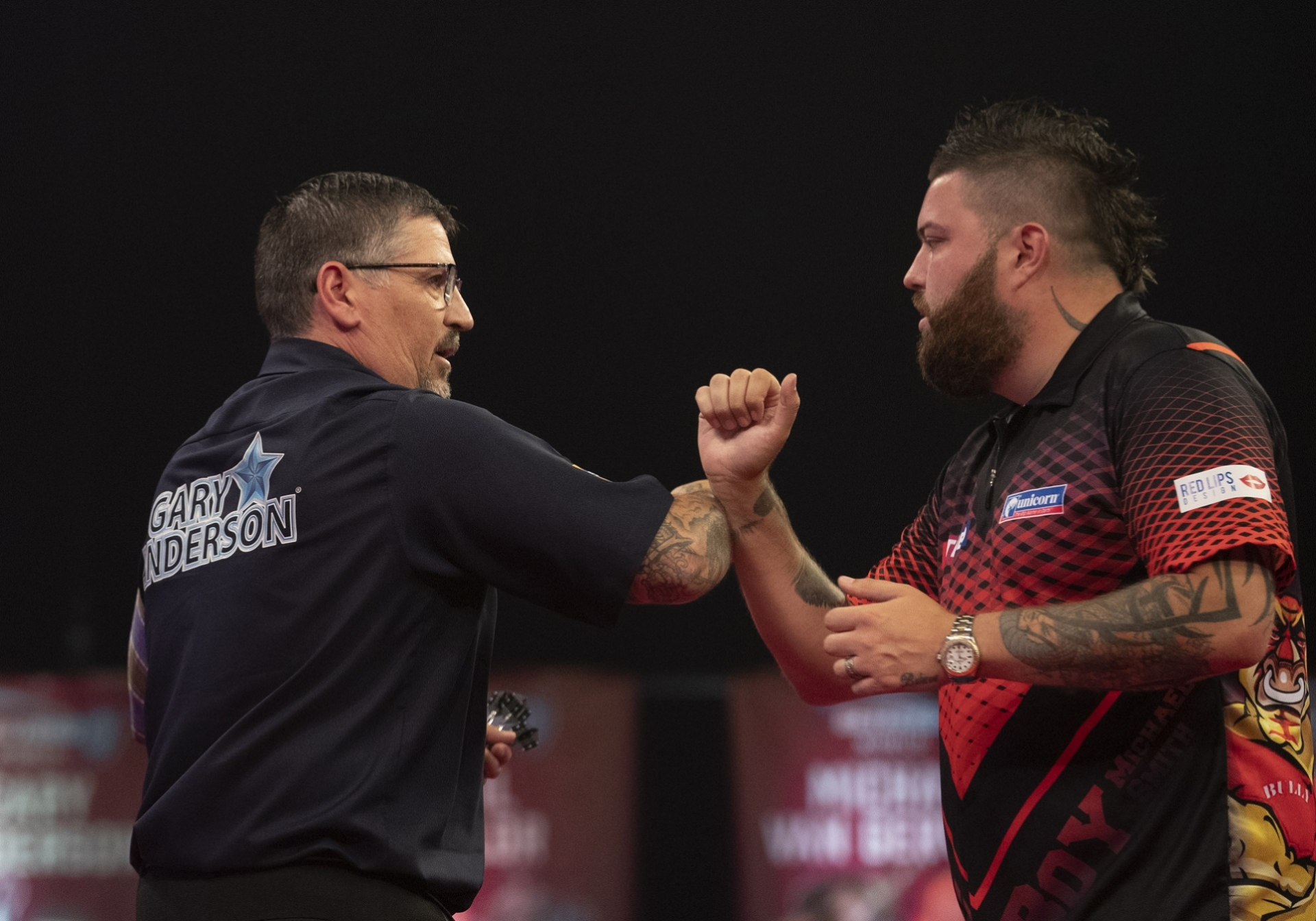 Gary Anderson & Michael Smith