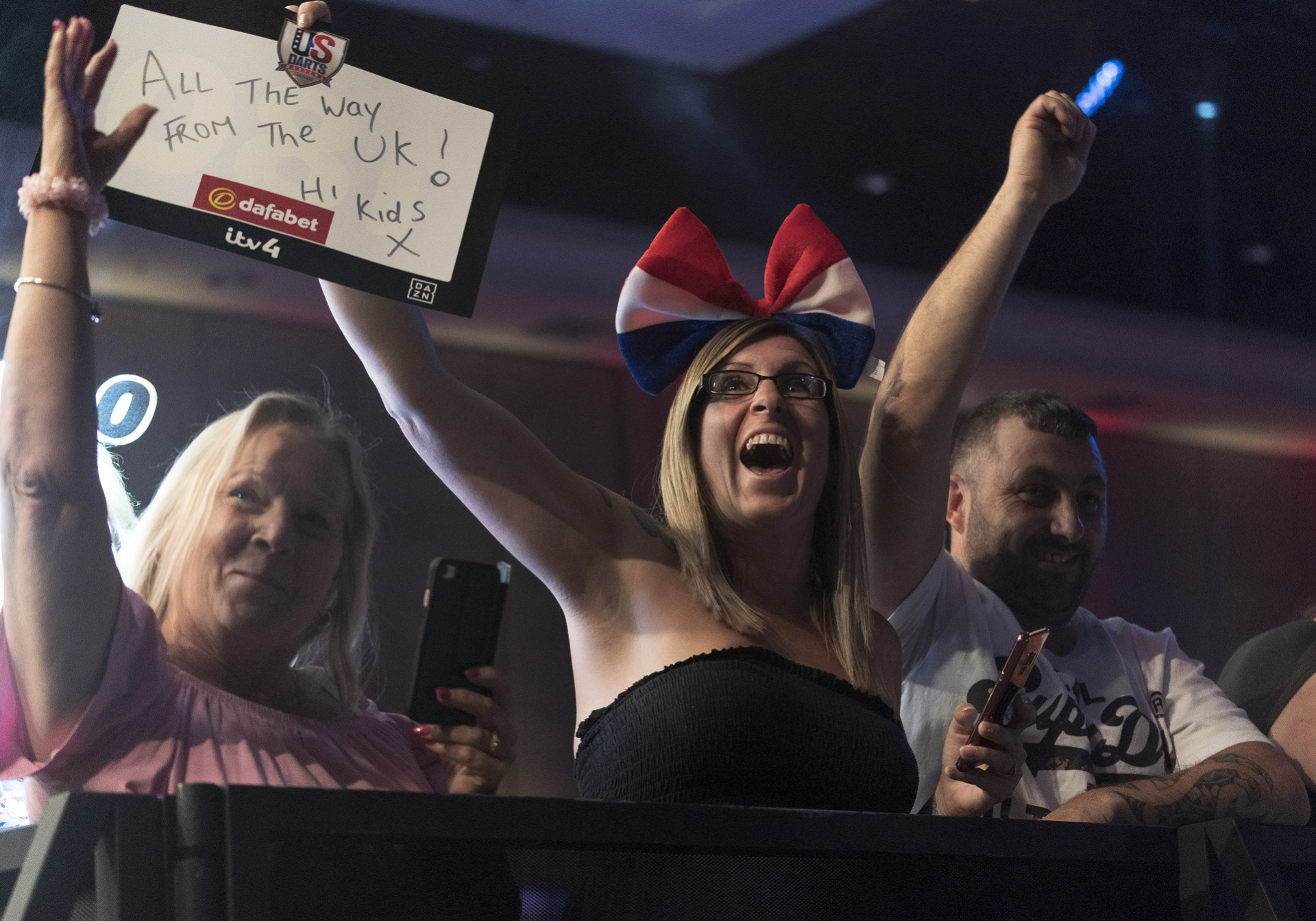 Fans at the Dafabet US Darts Masters