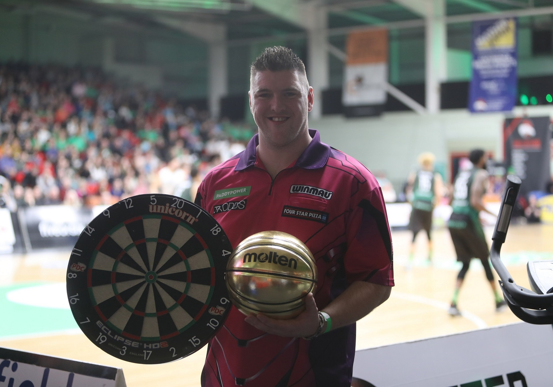 Daryl Gurney at Leicester Riders (Joe Pinchin, Leicester Riders)