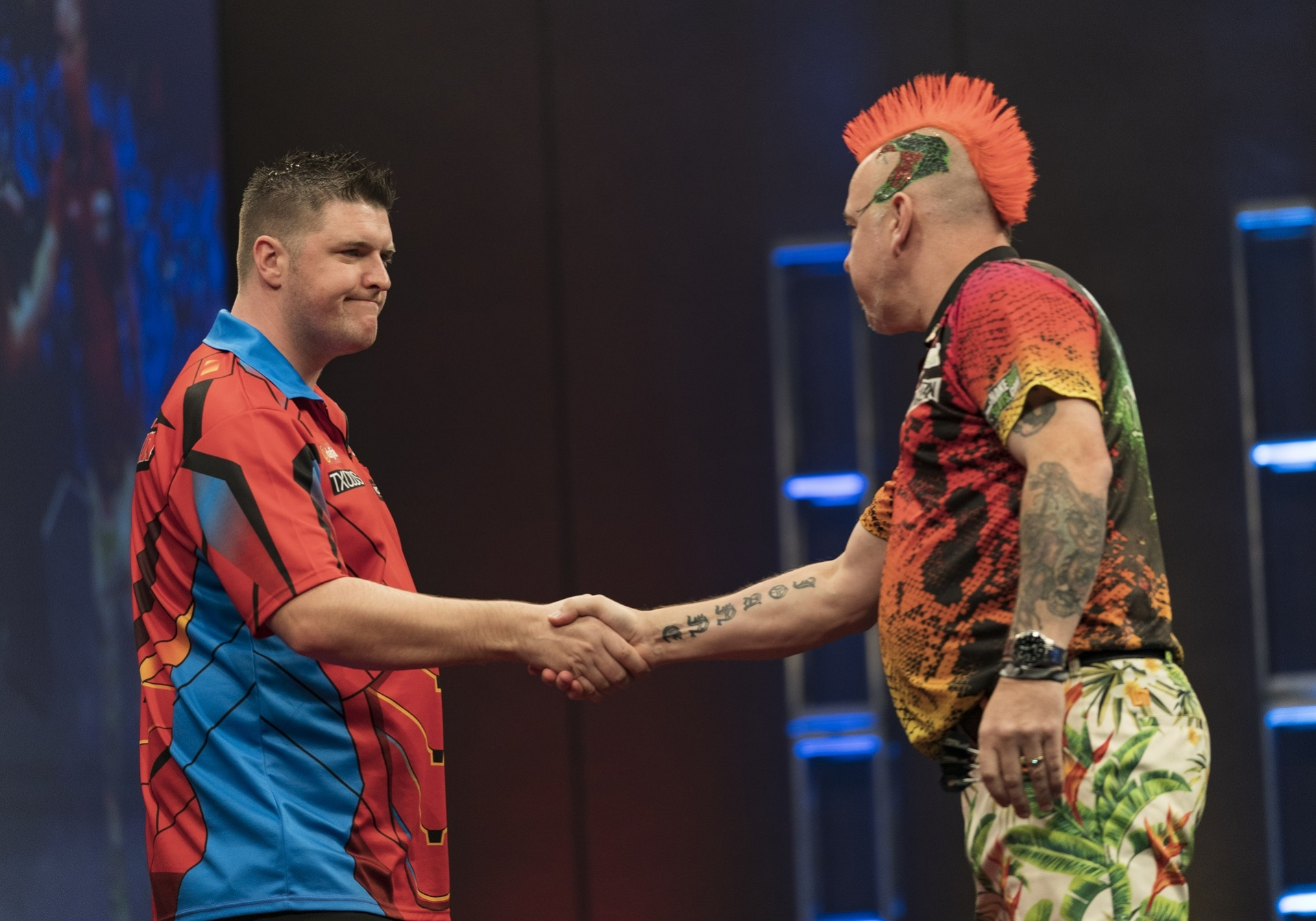 Daryl Gurney & Peter Wright