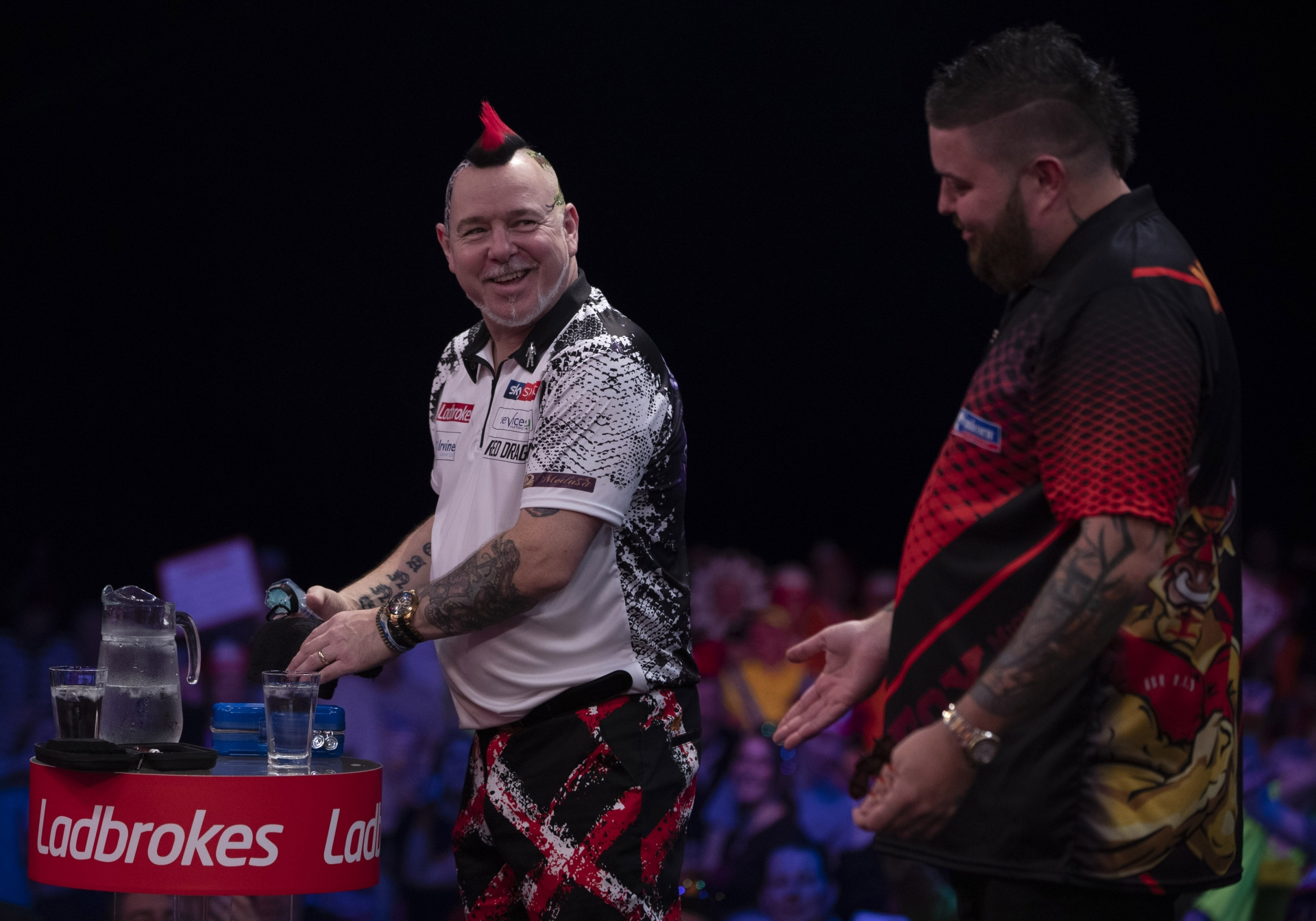 Peter Wright, Michael Smith (Lawrence Lustig, PDC)