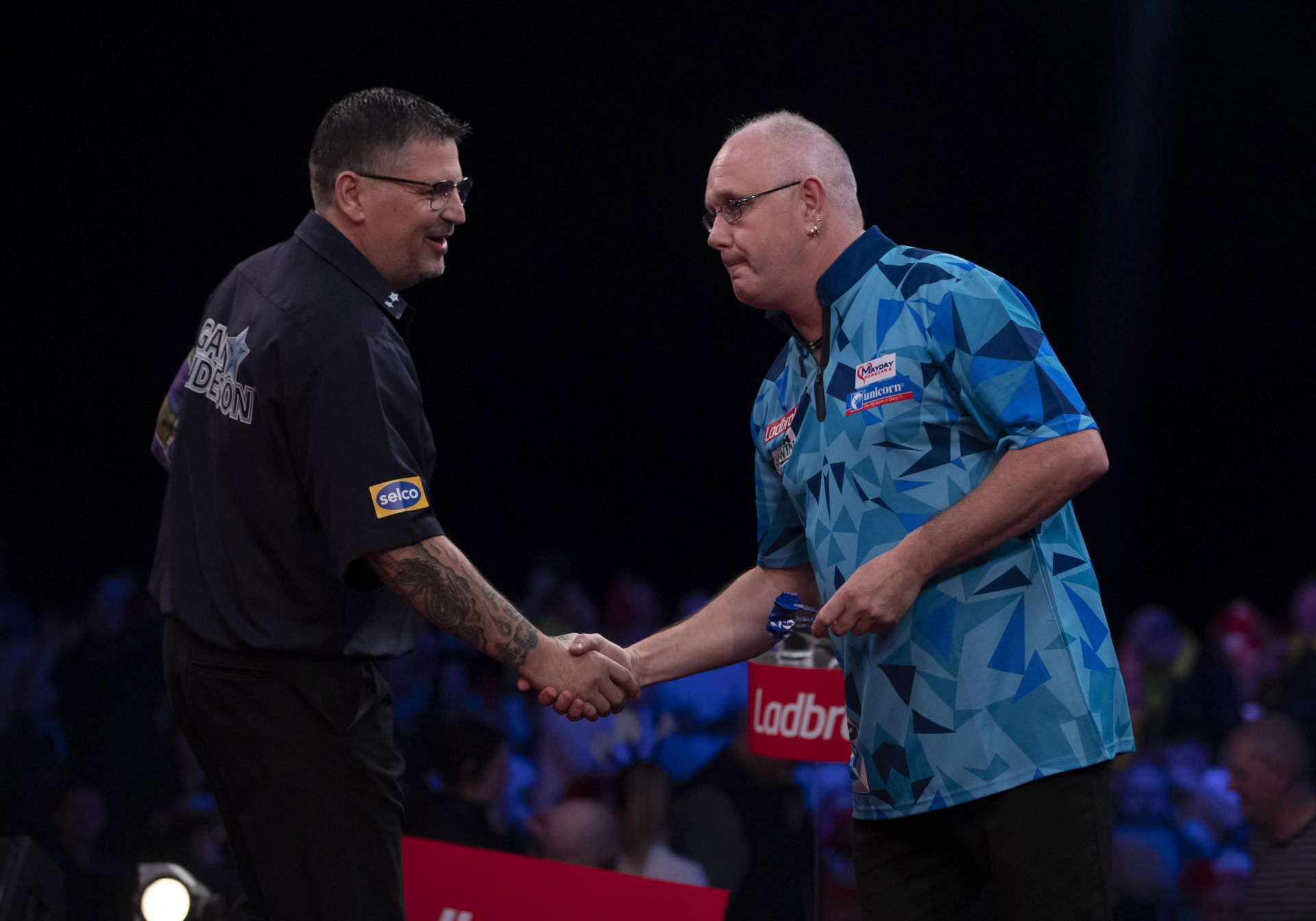 Gary Anderson, Ian White (Lawrence Lustig, PDC)