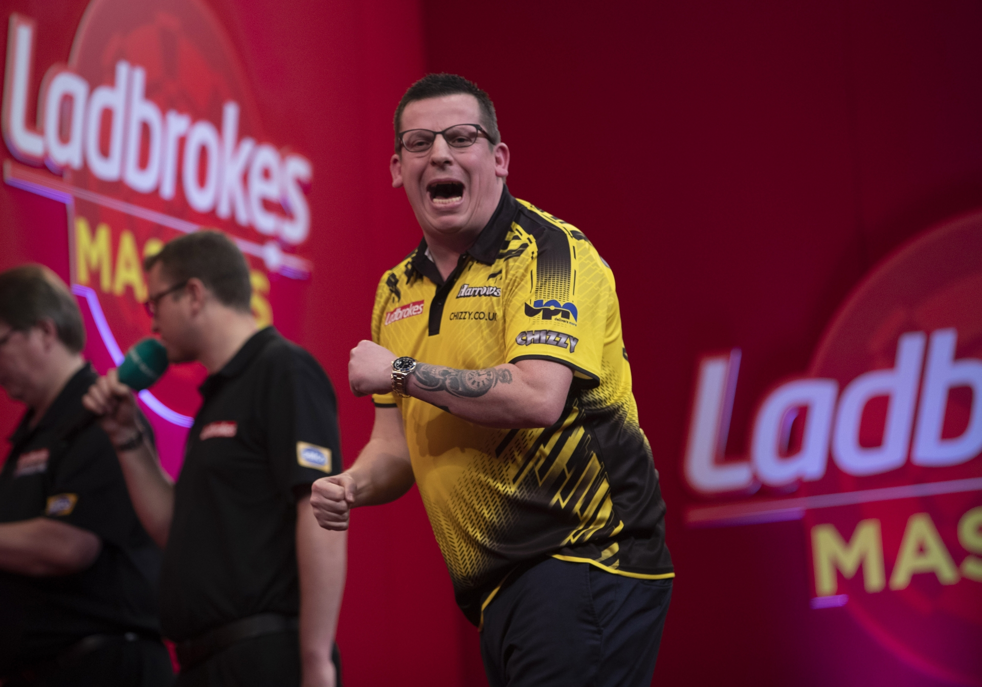 Dave Chisnall (Lawrence Lustig, PDC)