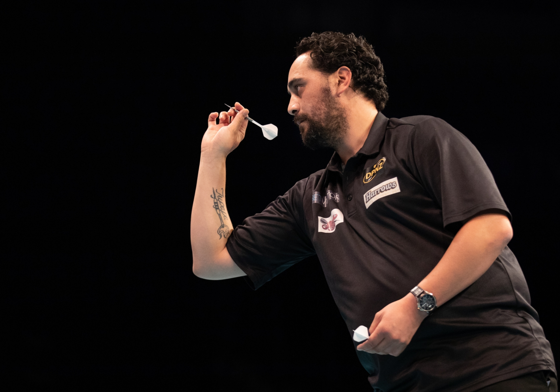 New Zealand's Cody Harris - BetVictor World Cup of Darts (Stefan Strassenberg)