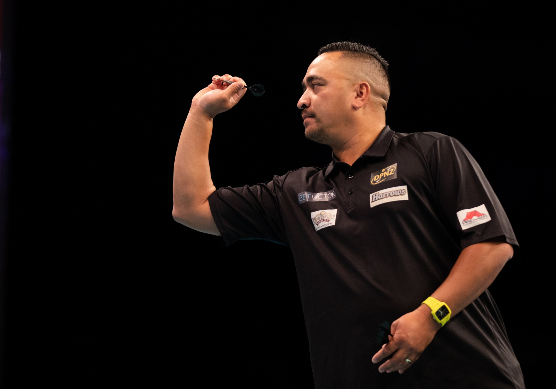 New Zealand's Haupai Puha - BetVictor World Cup of Darts (Stefan Strassenberg)
