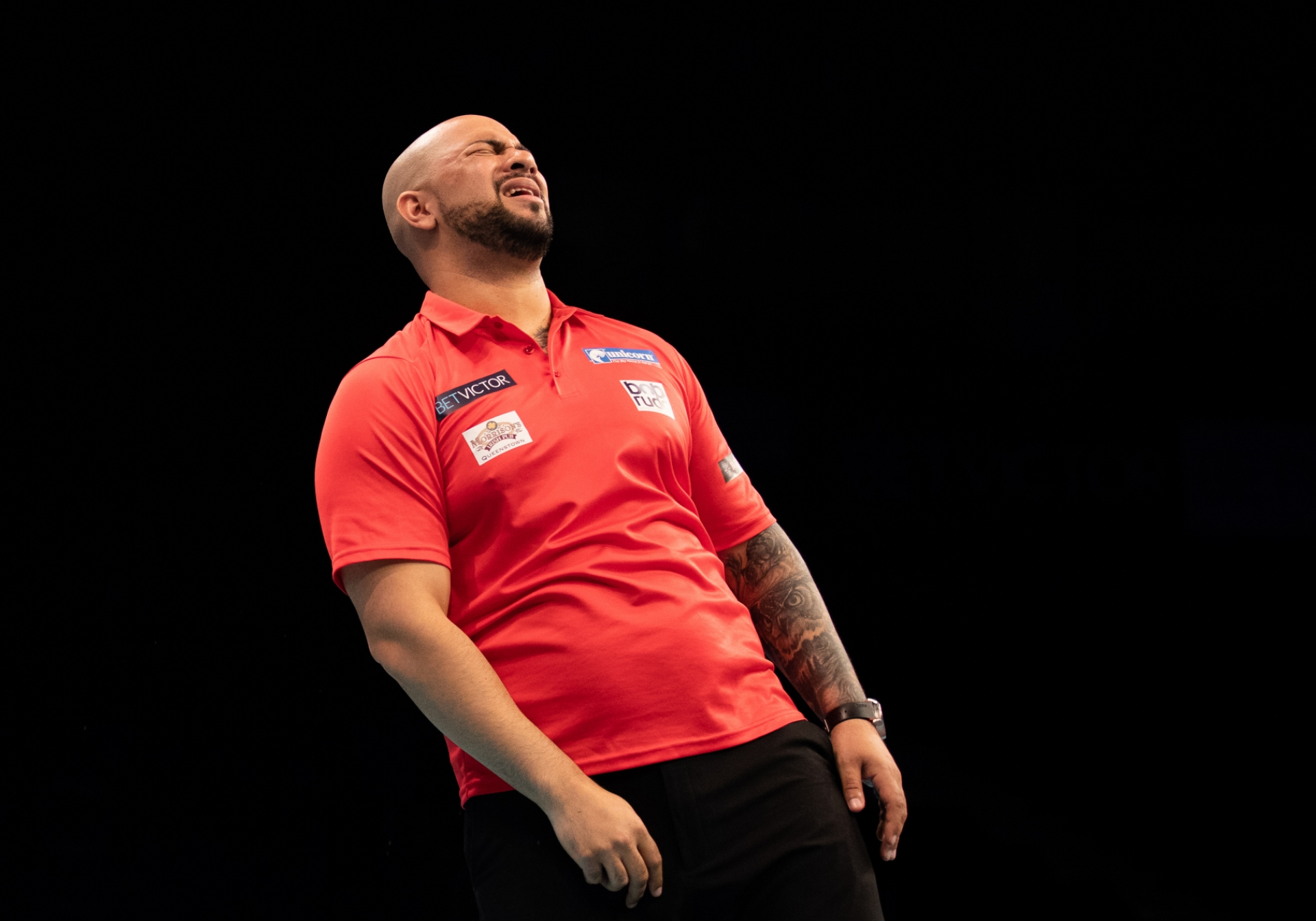 South Africa's Devon Petersen - BetVictor World Cup of Darts (Stefan Strassenberg)
