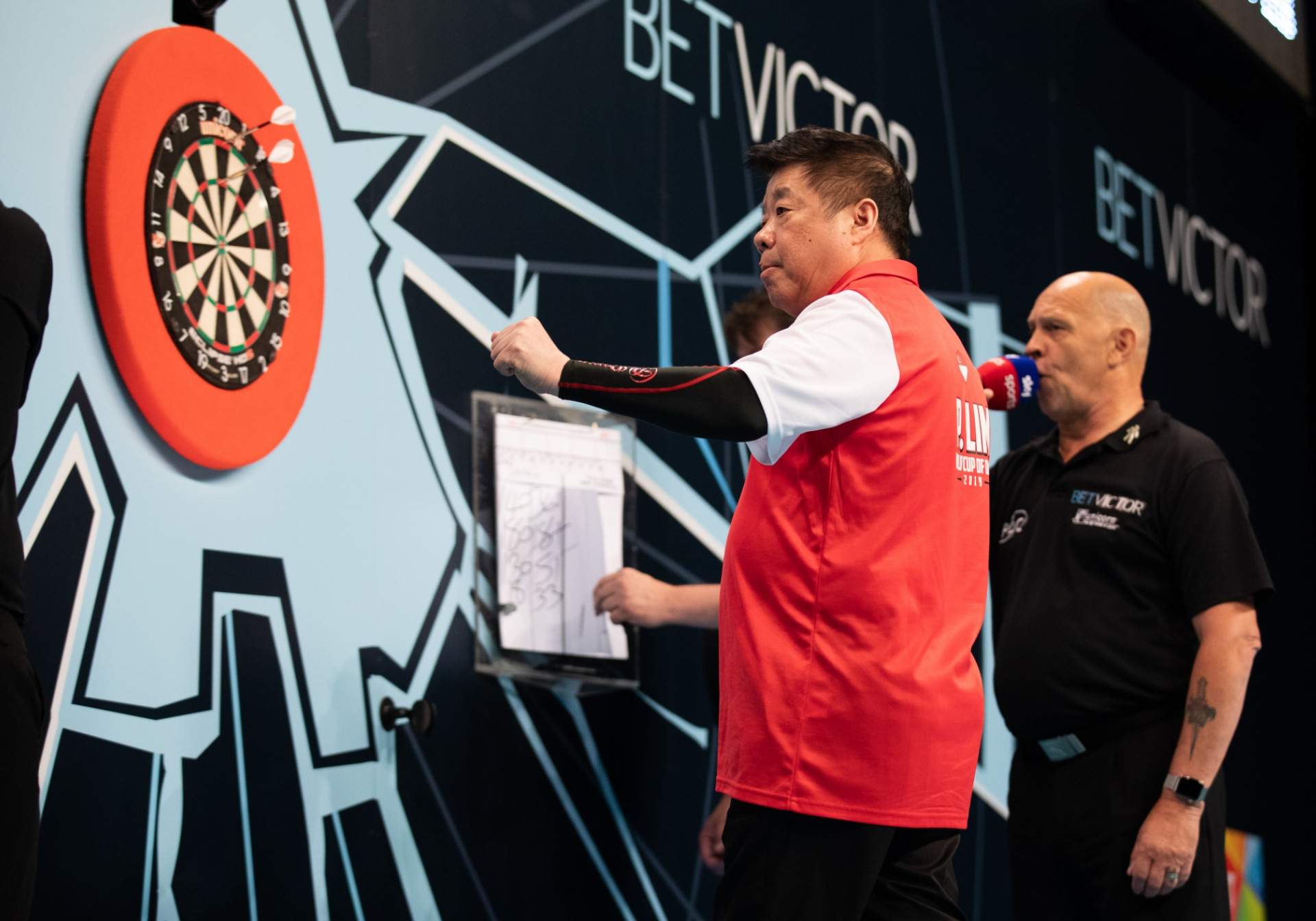Singapore's Paul Lim - BetVictor World Cup of Darts (Stefan Strassenberg)
