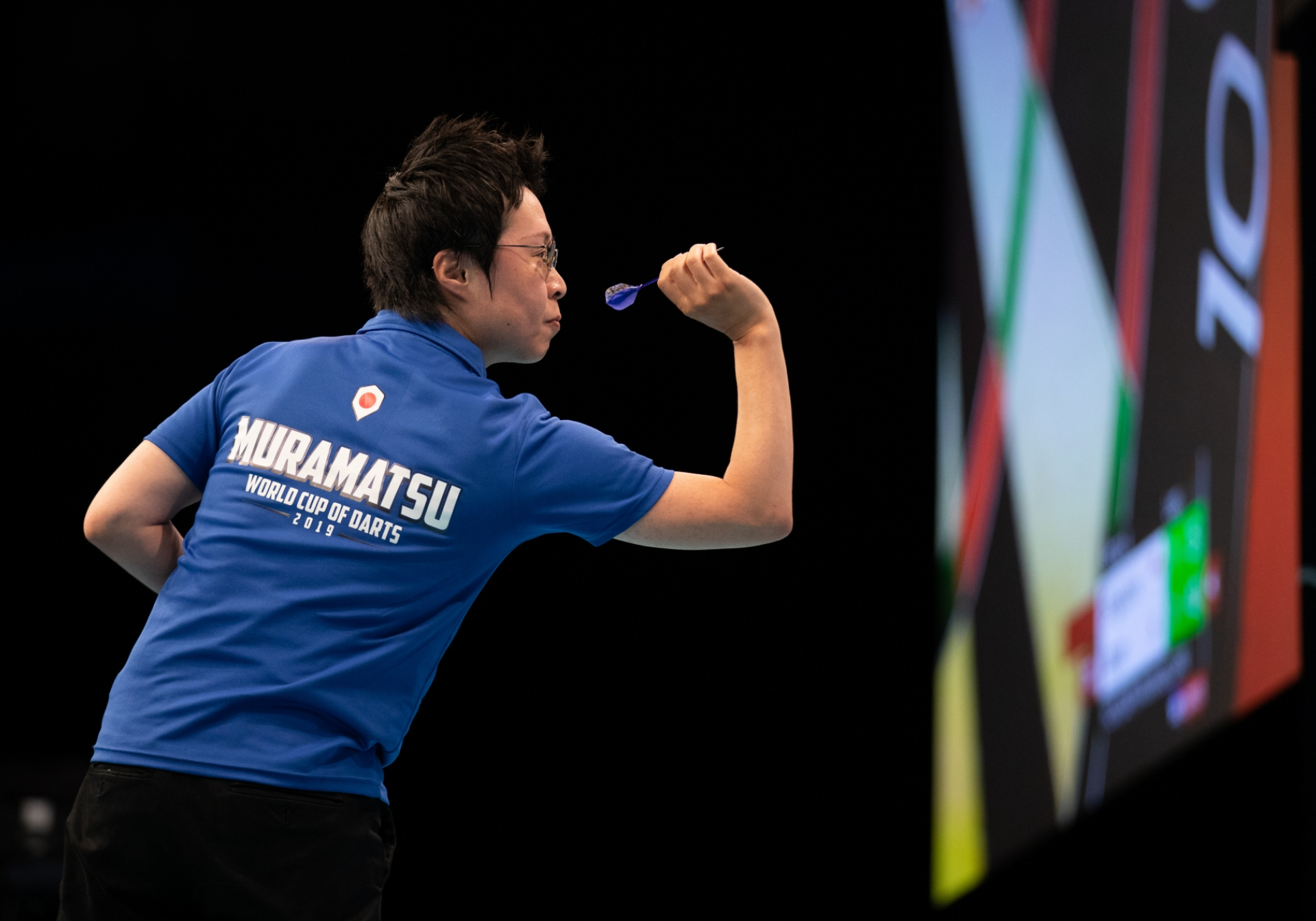 Japan's Haruki Muramatsu - BetVictor World Cup of Darts (Stefan Strassenberg)