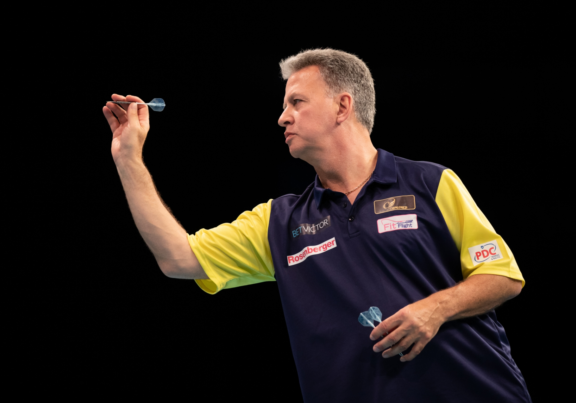 Sweden's Magnus Caris - BetVictor World Cup of Darts (Stefan Strassenberg)