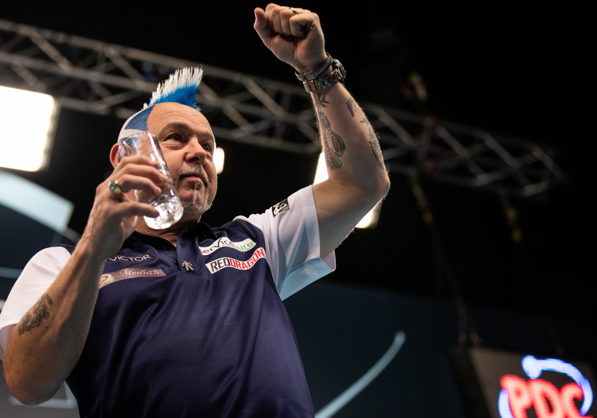 Scotland's Peter Wright- BetVictor World Cup of Darts (Stefan Strassenberg)