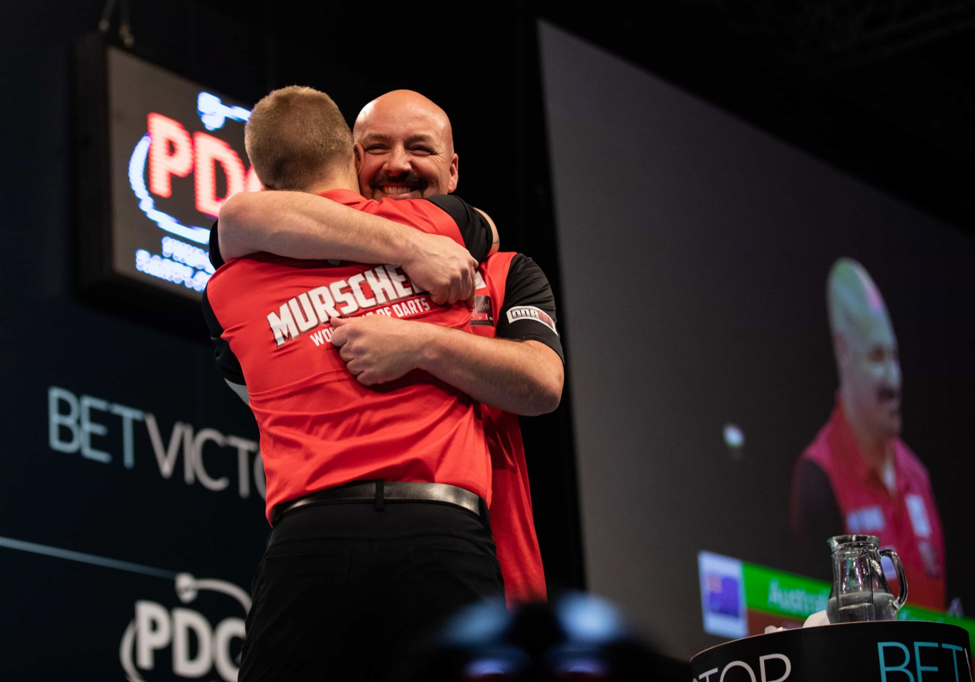 Canada's Dawson Murschell and Jim Long - BetVictor World Cup of Darts (Stefan Strassenberg)