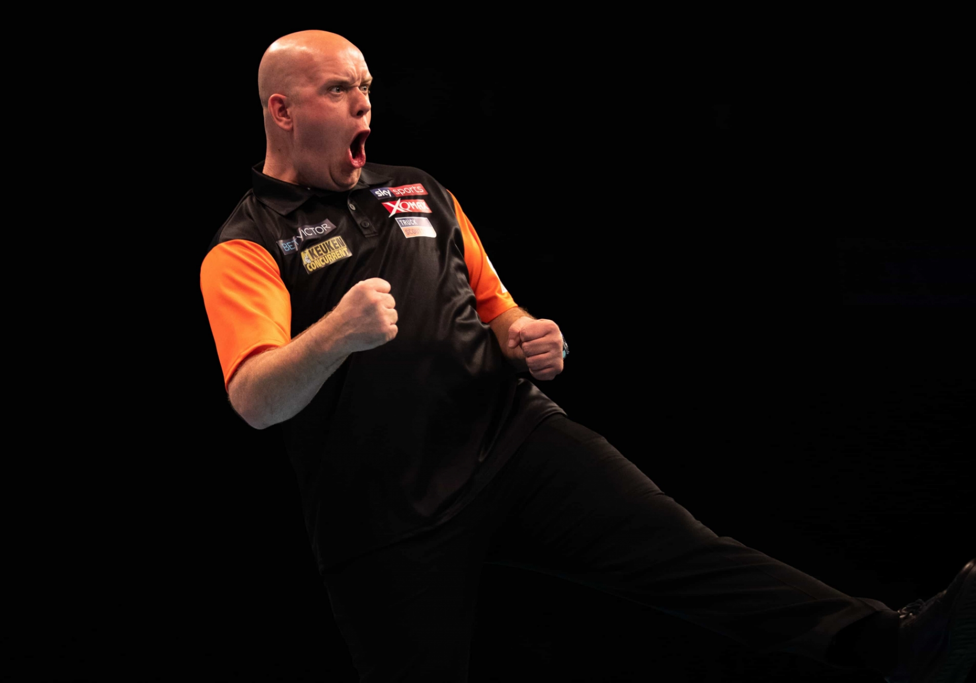 Netherlands' Michael van Gerwen - BetVictor World Cup of Darts (Stefan Strassenberg)