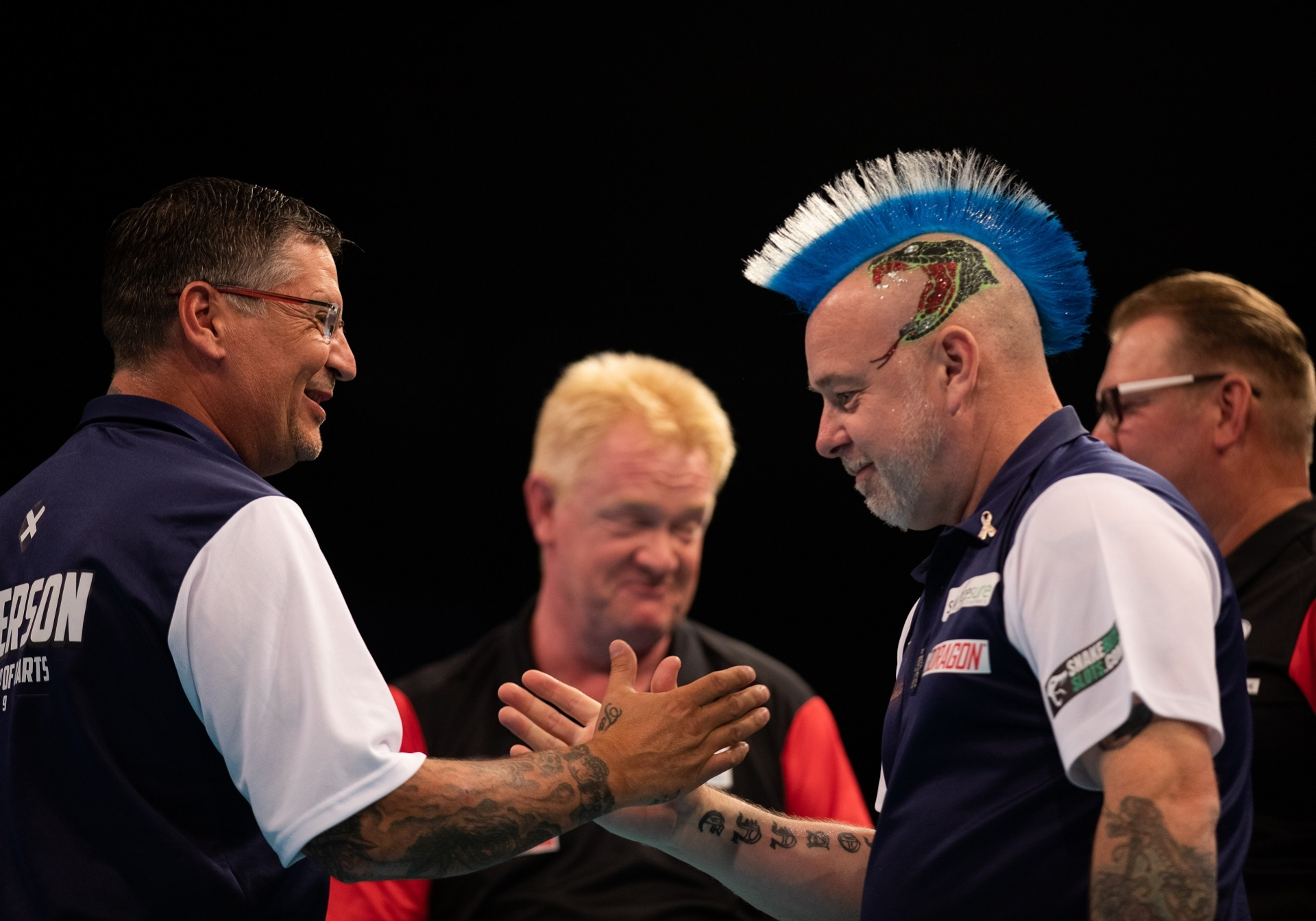 Gary Anderson & Peter Wright