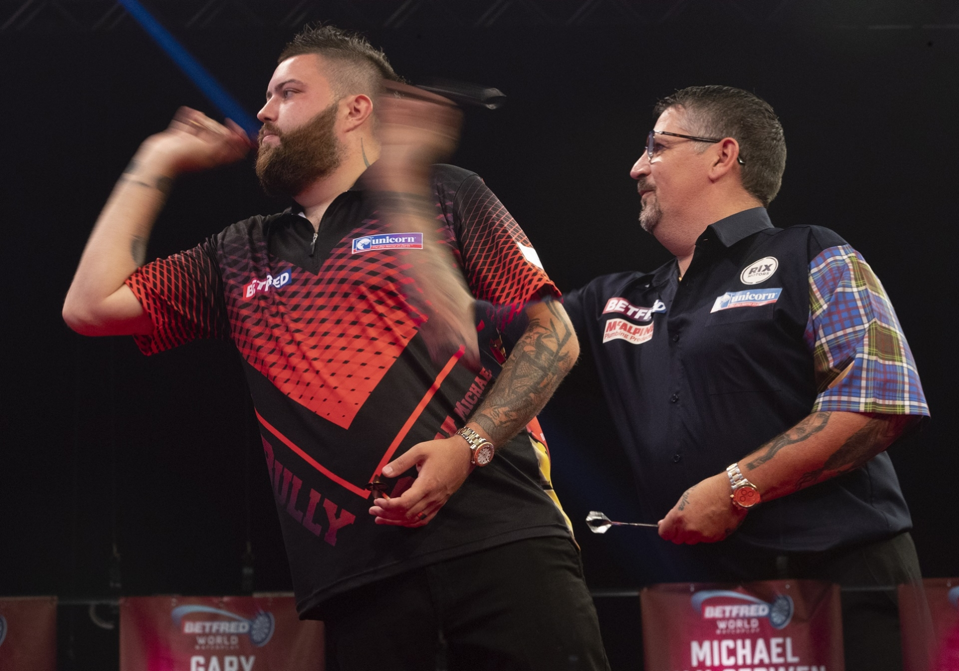 Michael Smith & Gary Anderson
