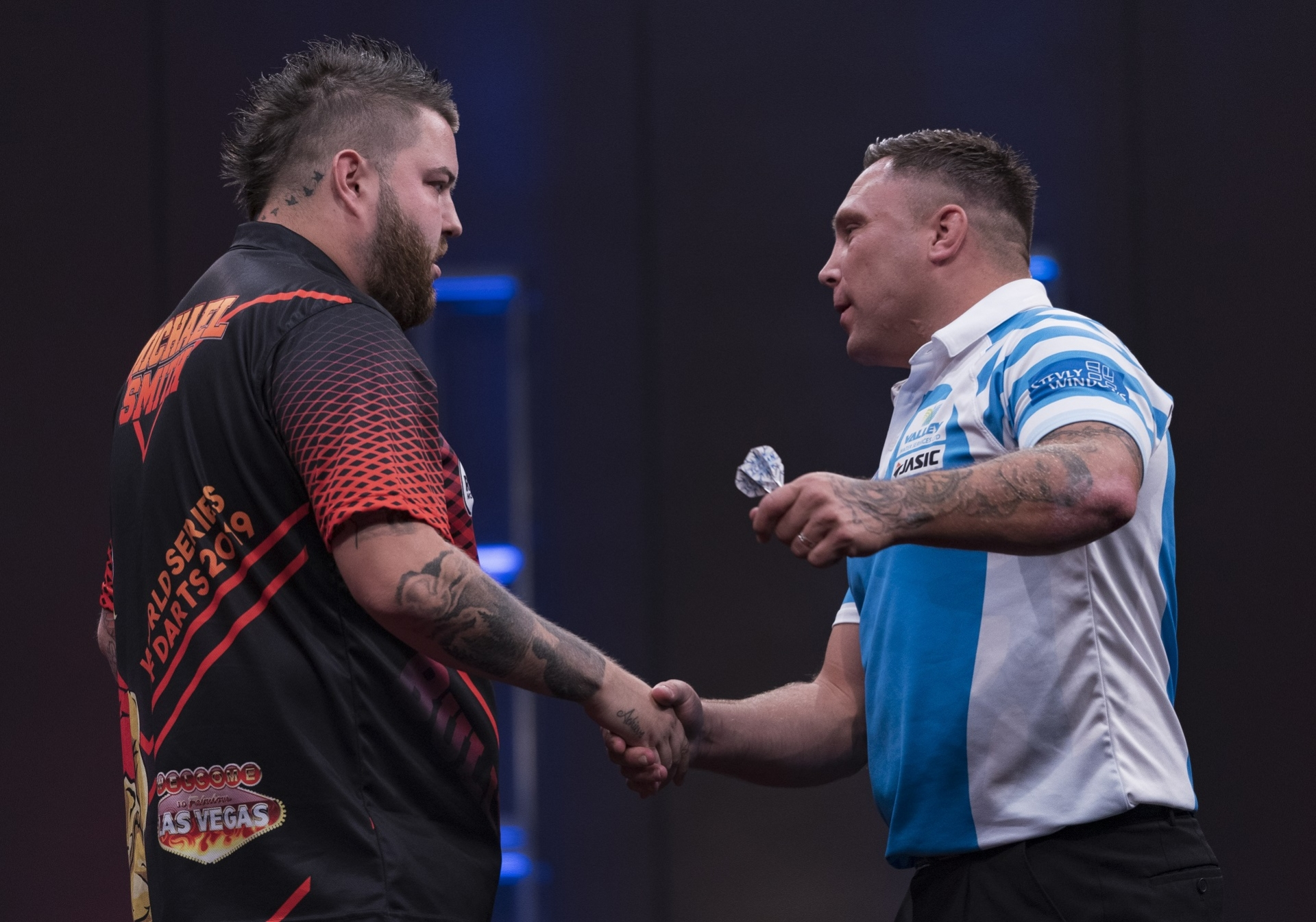 Michael Smith & Gerwyn Price