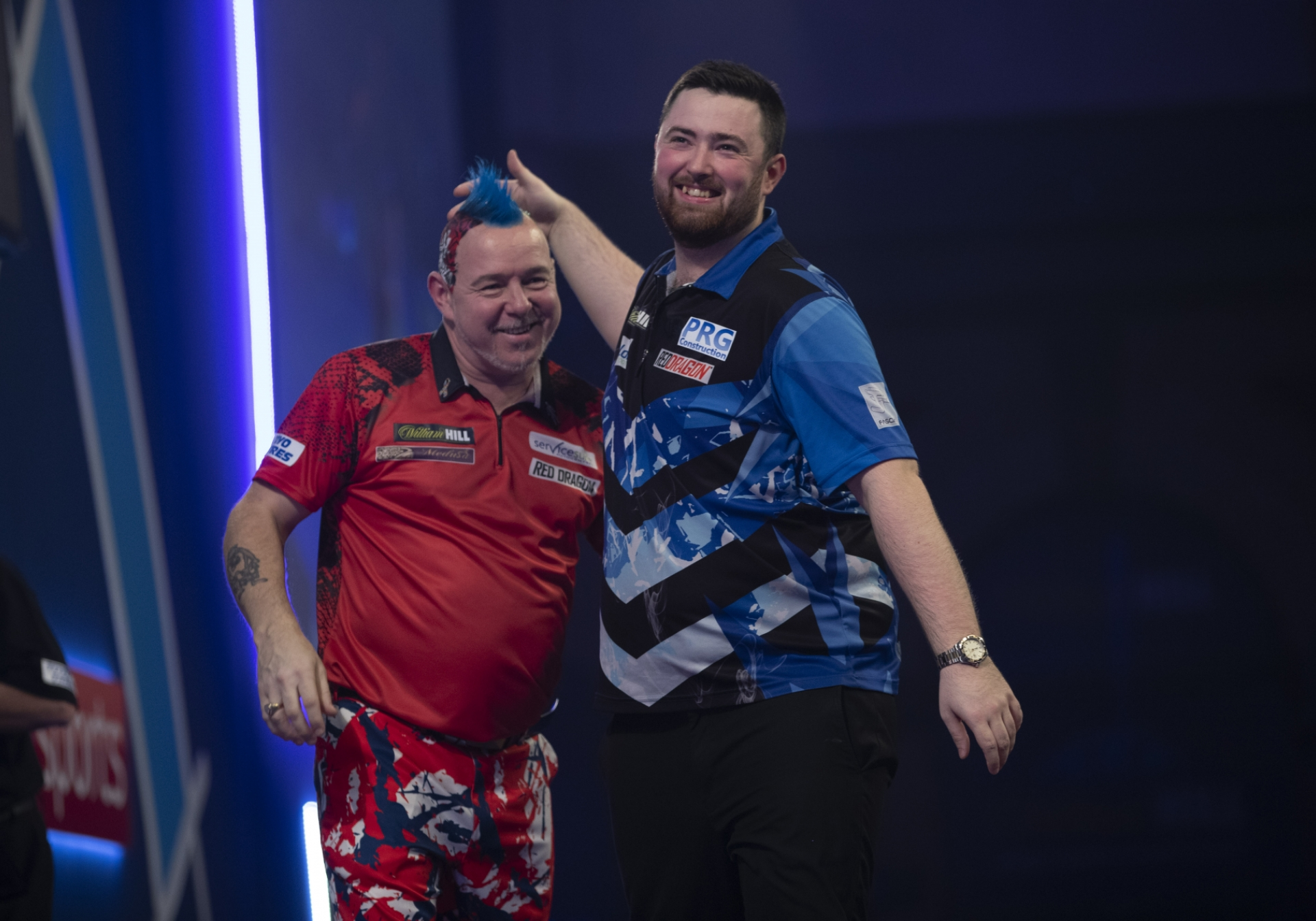 Peter Wright & Luke Humphries (Lawrence Lustig, PDC)