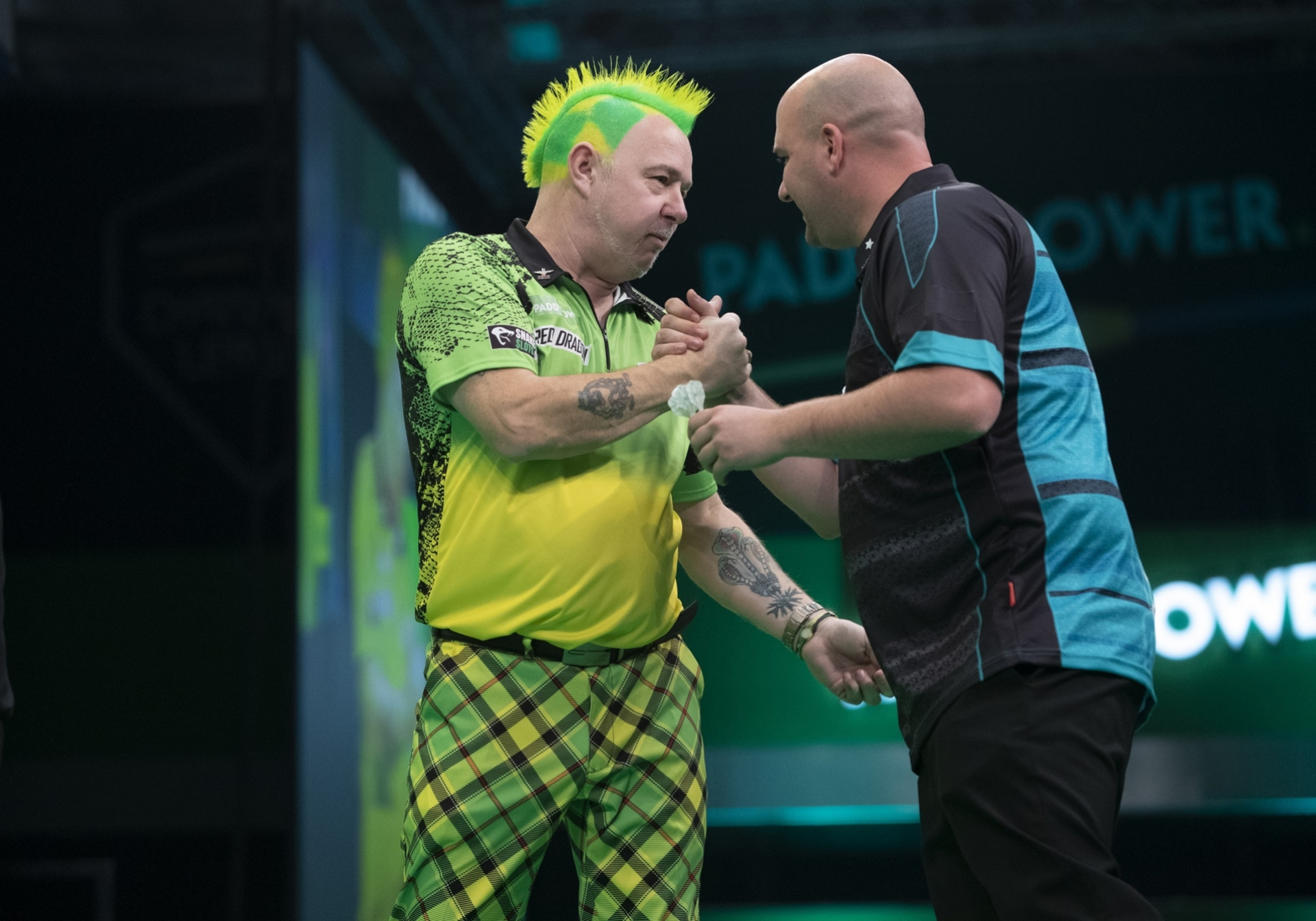 Peter Wright & Rob Cross