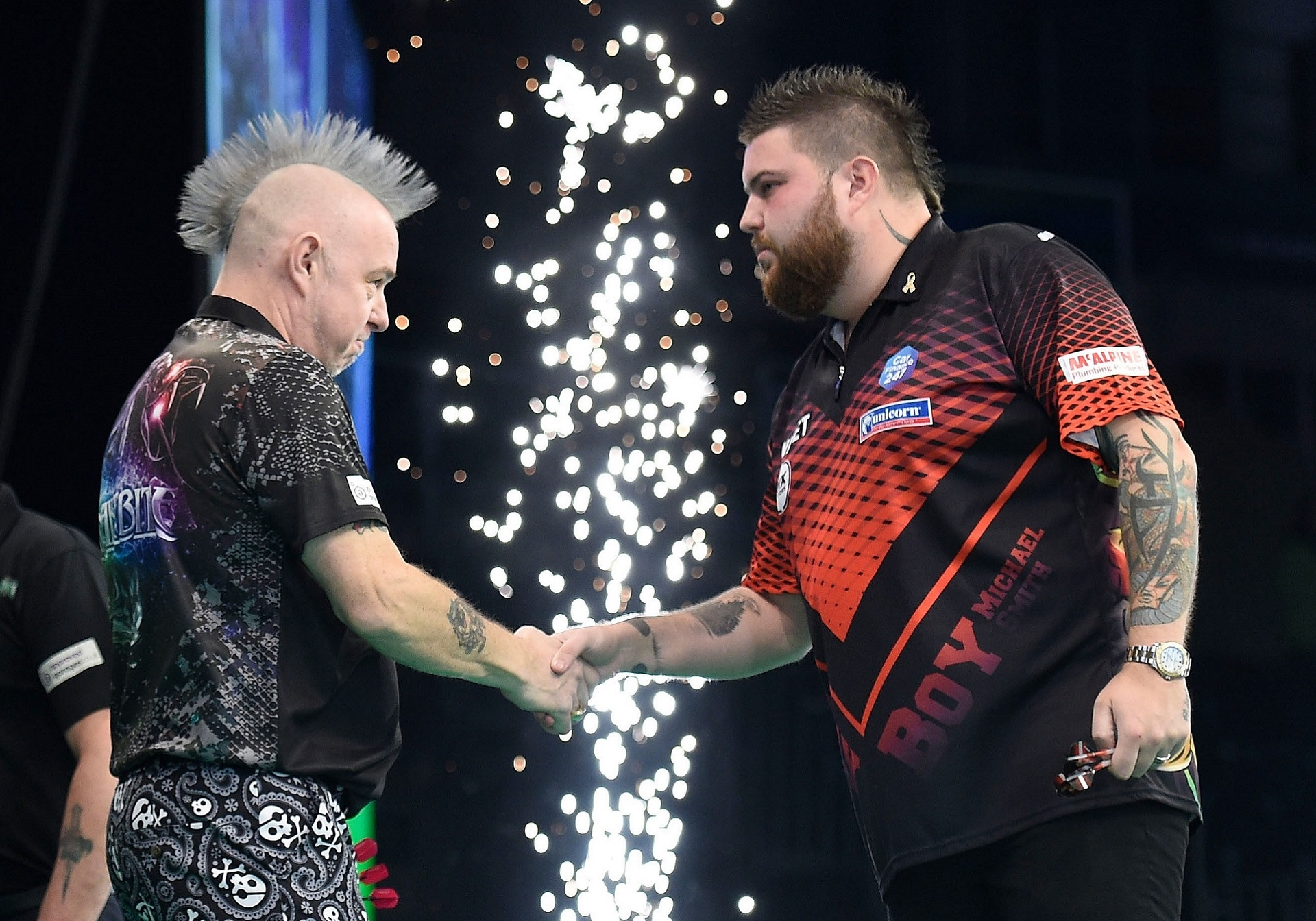 Peter Wright & Michael Smith (Michael Cooper, PDC)