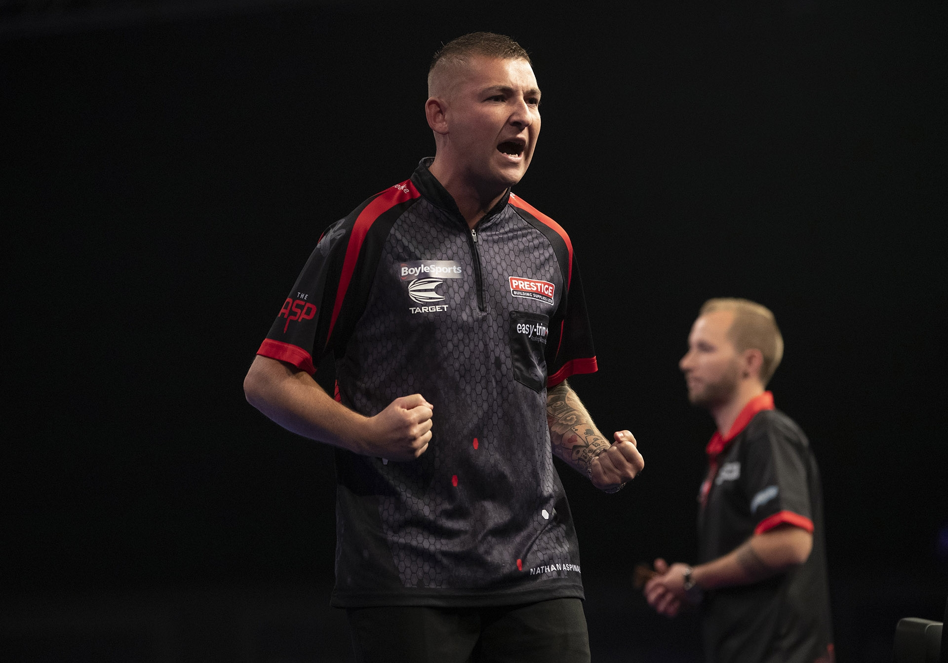 Nathan Aspinall, Danny Noppert (Lawrence Lustig, PDC)
