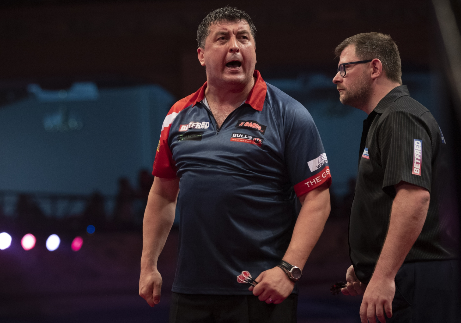 Mensur Suljovic, James Wade (Lawrence Lustig, PDC)