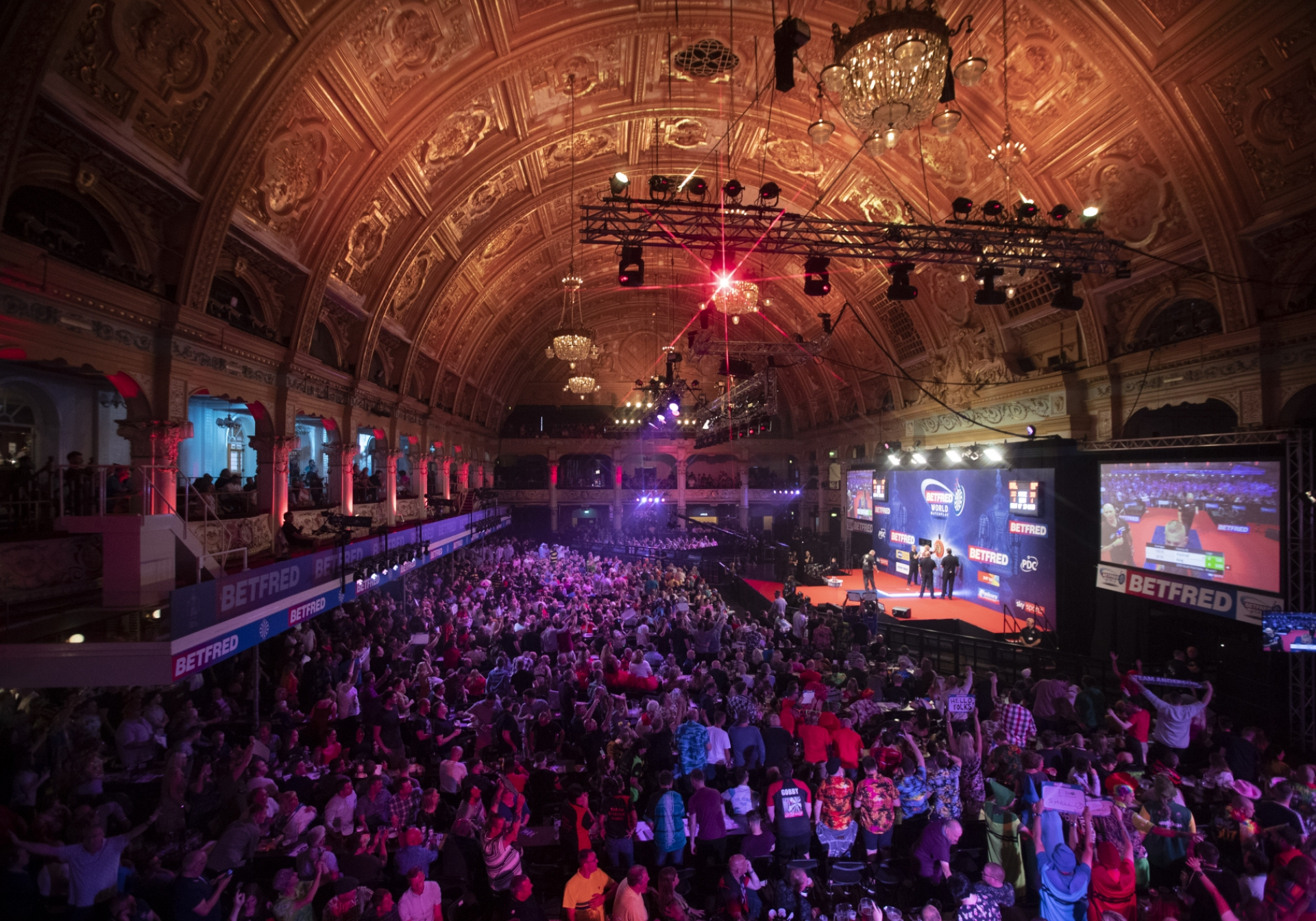 World Matchplay general view (Lawrence Lustig, PDC)