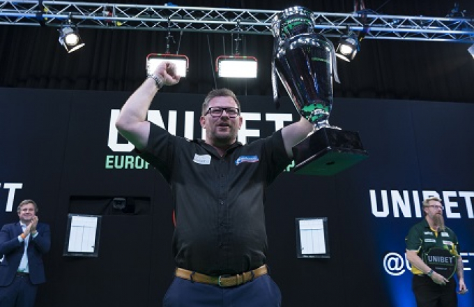 James Wade - Unibet European Championship (Kelly Deckers, PDC)