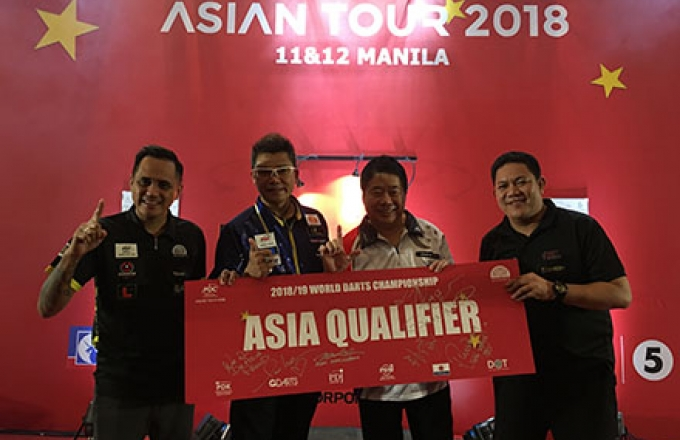 Asian Tour players (PDC)
