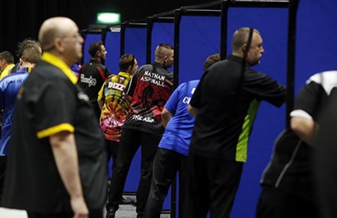 Players Championship players throwing (PDC)