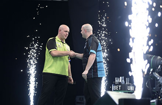 Michael van Gerwen, Rob Cross (PDC)