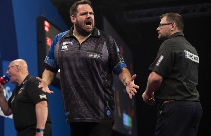 Adrian Lewis, James Wade (Lawrence Lustig, PDC)