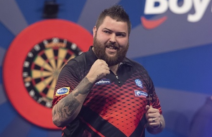 Michael Smith - BoyleSports Grand Slam (Lawrence Lustig, PDC)