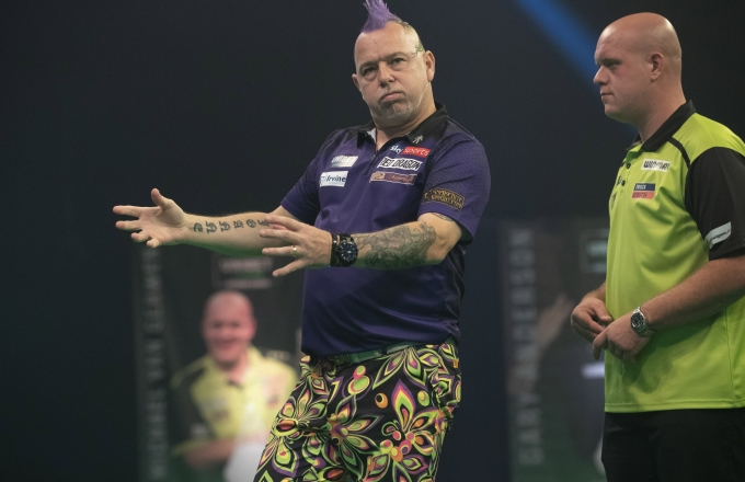 Peter Wright, Michael van Gerwen