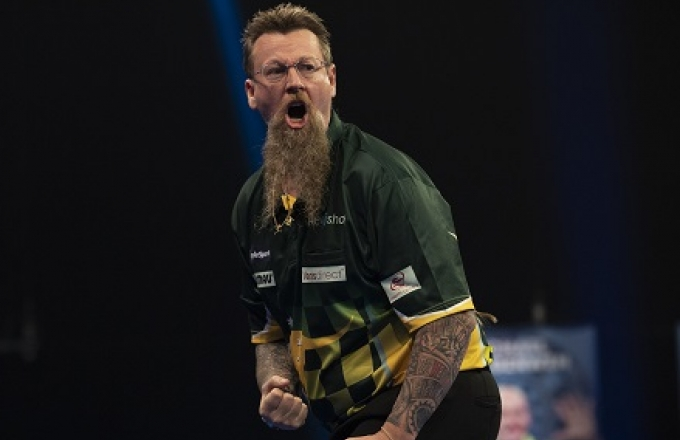 Simon Whitlock - BoyleSports World Grand Prix (Lawrence Lustig, PDC)