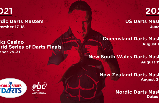 World Series of Darts dates
