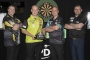 Daryl Gurney, Michael van Gerwen, Rob Cross and James Wade (Lawrence Lustig, PDC)