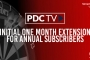 PDCTV One Month Extension
