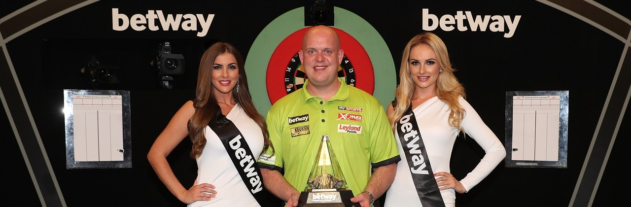 Michael van Gerwen - Betway Premier League (Lawrence Lustig, PDC)