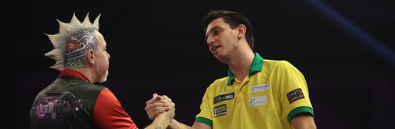 Peter Wright & Diogo Portela (Lawrence Lustig, PDC)