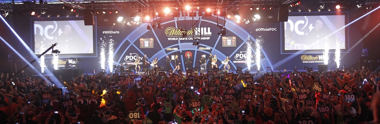 World Championship stage (PDC)
