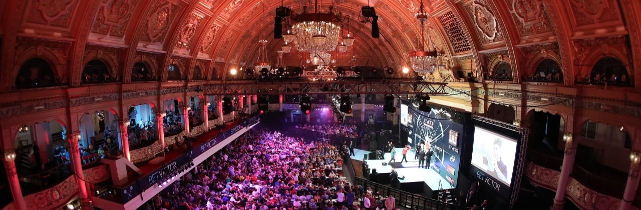 Winter Gardens - Betfred World Matchplay (Lawrence Lustig, PDC)